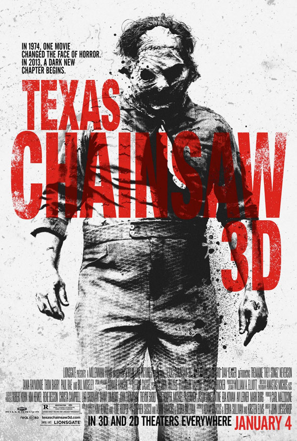 Texas Chainsaw 3D Poster #2