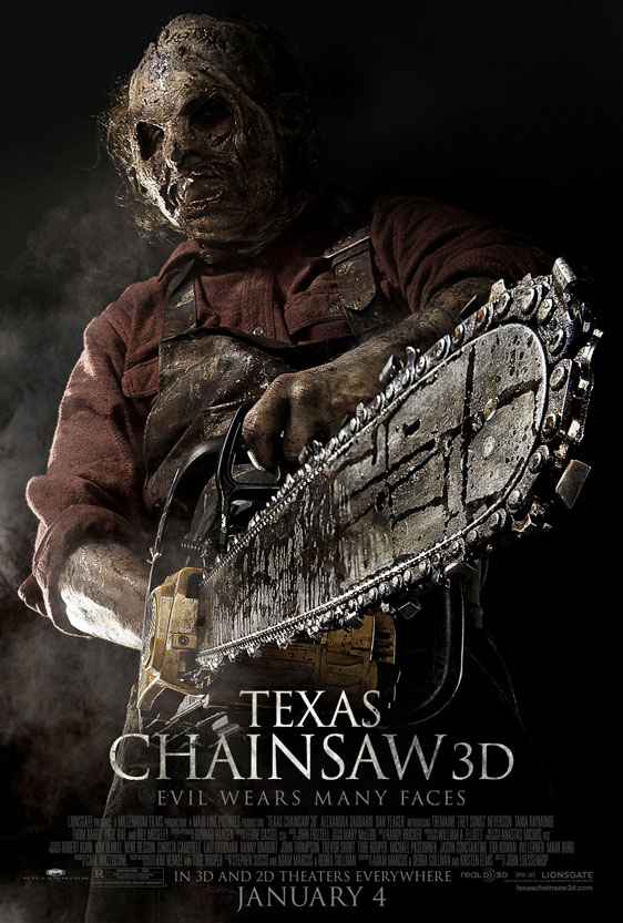 Texas Chainsaw 3D Poster #3