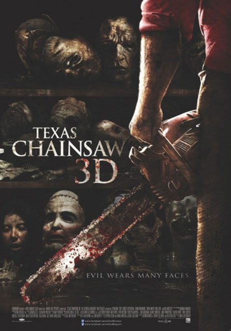Texas Chainsaw 3D Poster #4