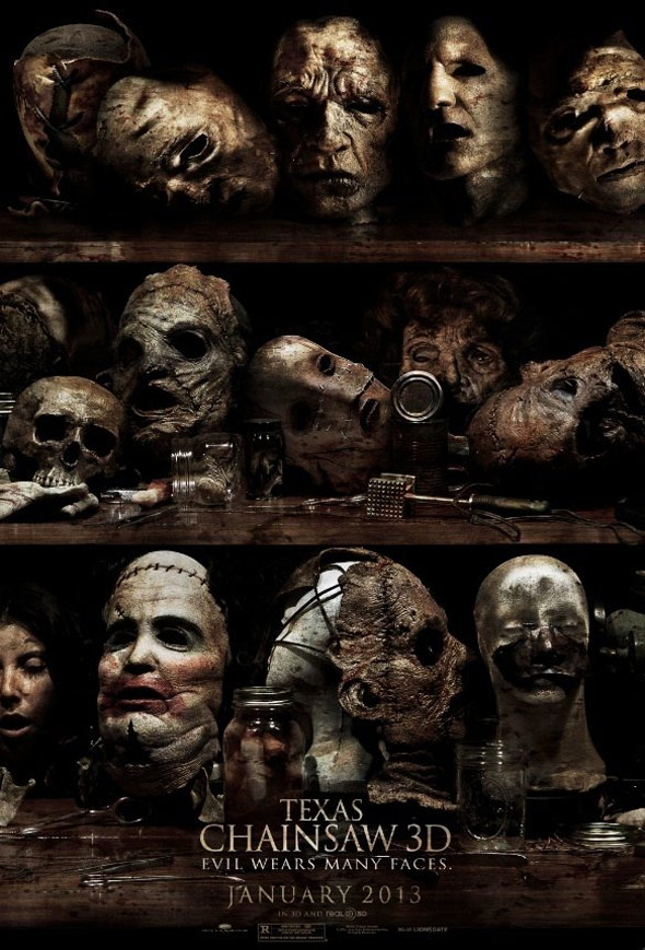 Texas Chainsaw 3D Poster #1