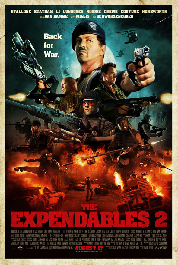 The Expendables 2 Poster #13