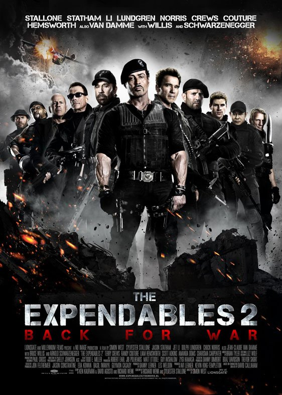 The Expendables 2 Poster #18