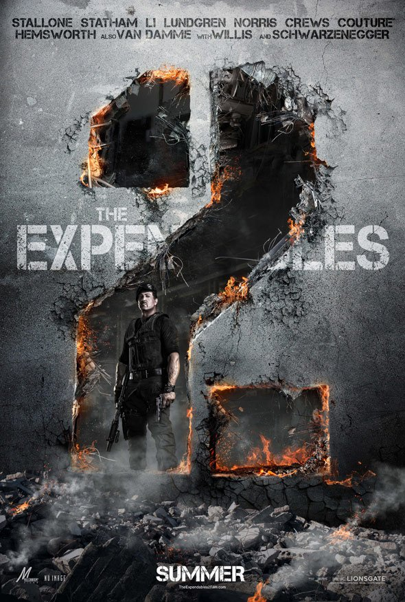 The Expendables 2 Poster #1