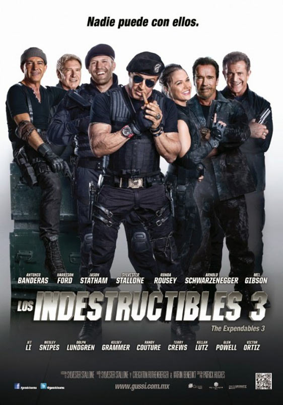 The Expendables 3 (2014) Poster #1 - TrailerAddict