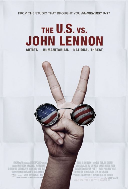 The U.S. vs. John Lennon Poster