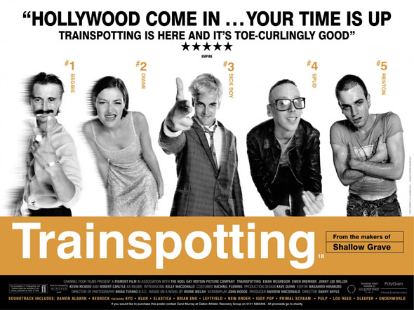 Trainspotting Poster #5