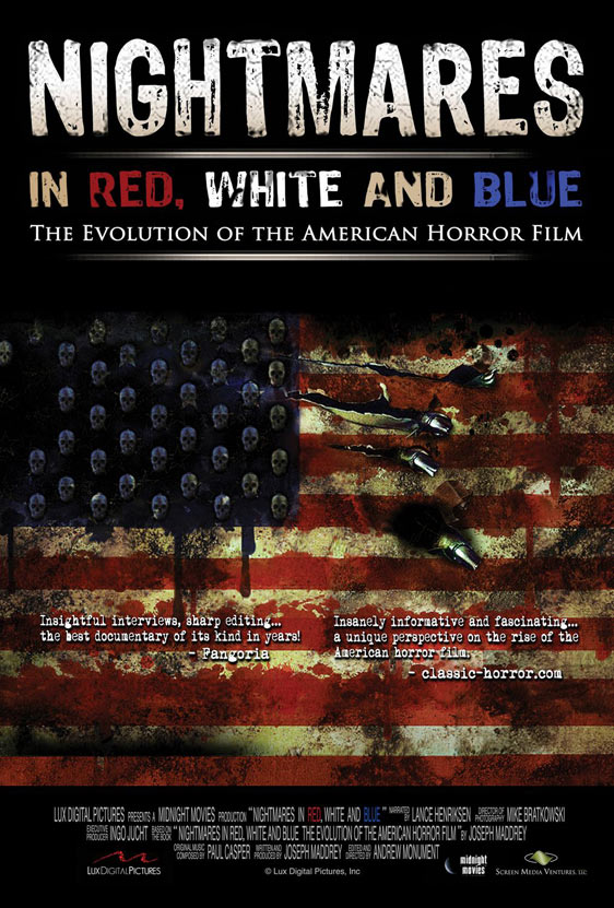 Nightmares in Red, White and Blue Poster #1