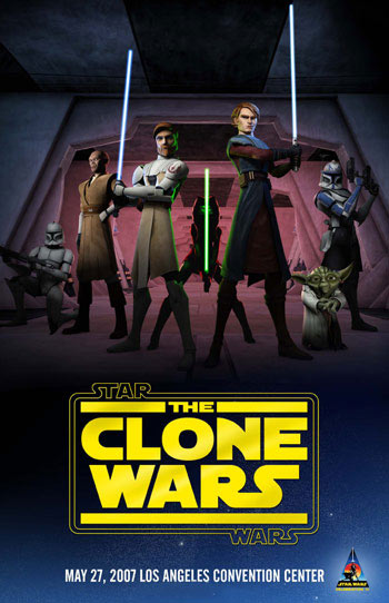 Star Wars: The Clone Wars Poster #1