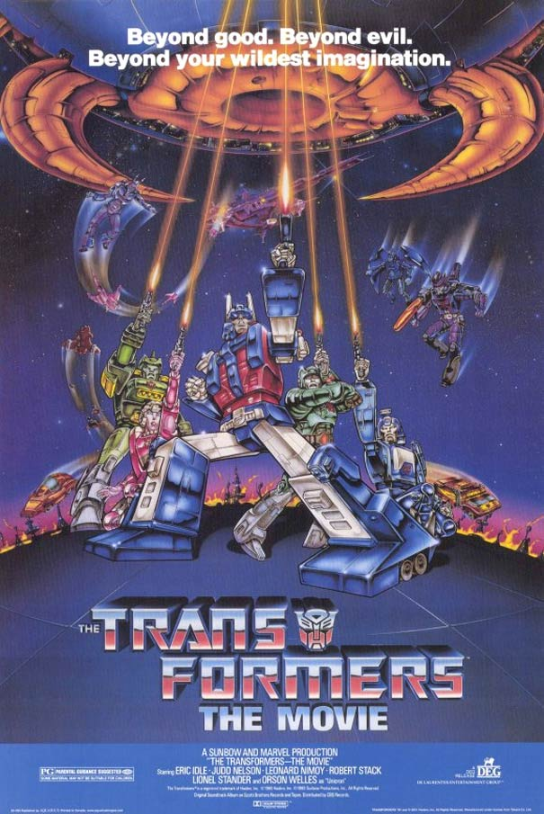 the transformers the movie 1986 poster 1 trailer addict