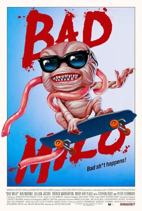 Bad Milo Poster #3