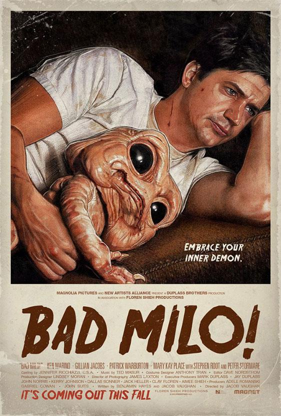 Bad Milo Poster #1