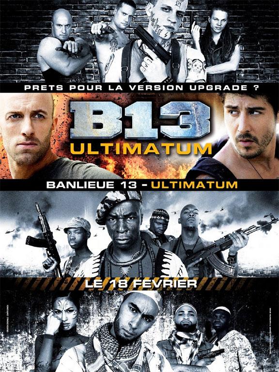 District B13 Ultimatum Poster #2