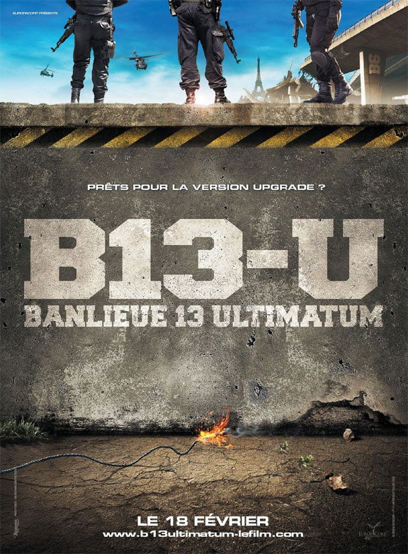 District B13 Ultimatum Poster #3