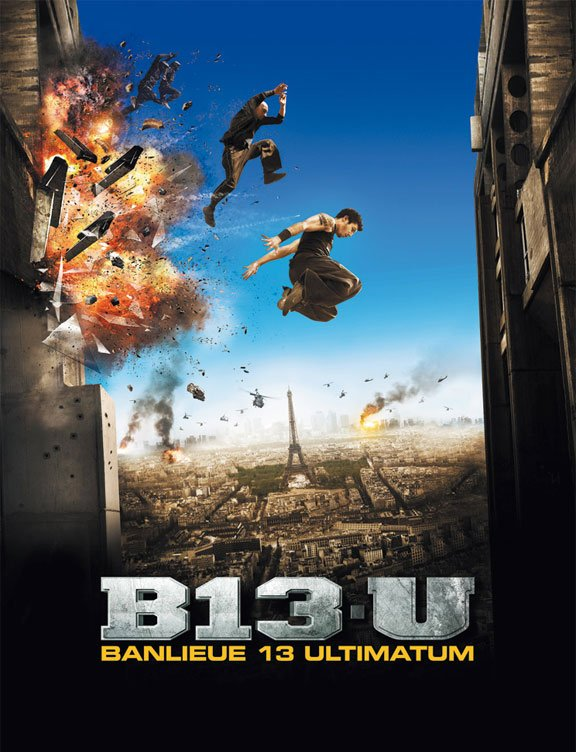 District B13 Ultimatum Poster