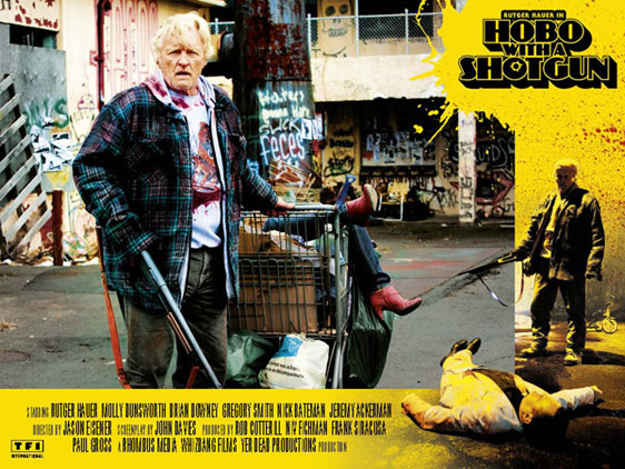 Hobo with a Shotgun Poster #3