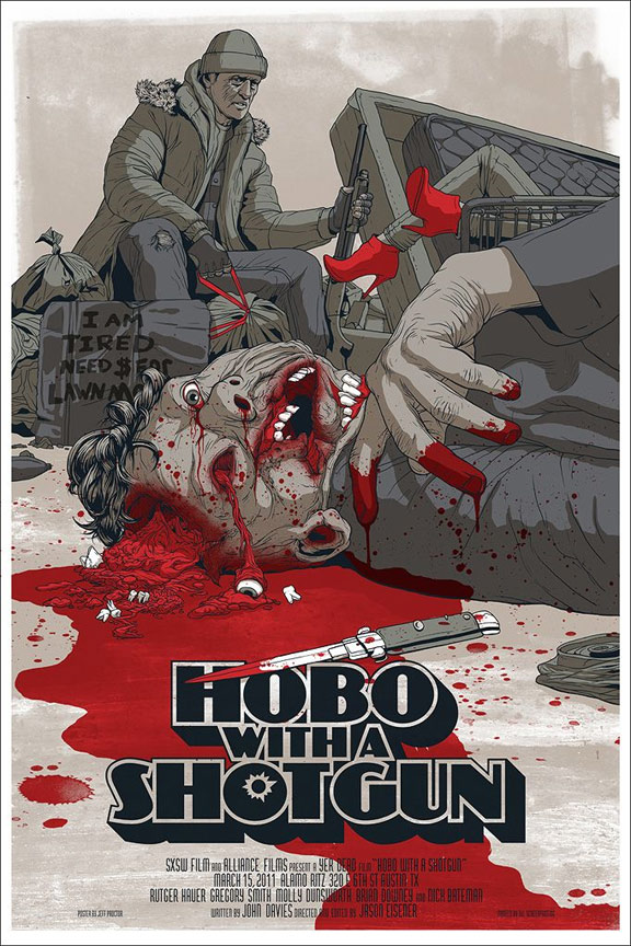 Hobo with a Shotgun Poster #9