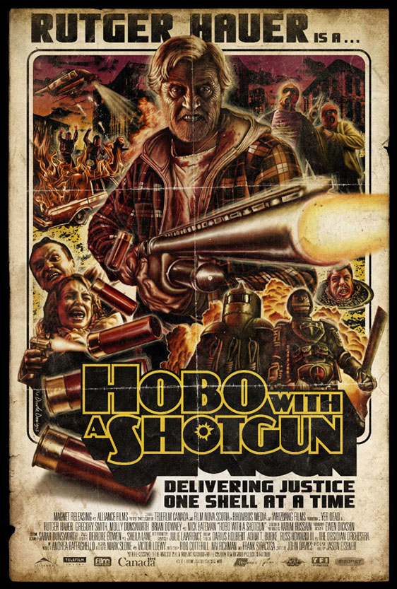 Hobo with a Shotgun Poster #1