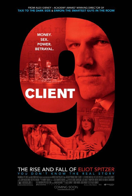 Client 9: The Rise and Fall of Eliot Spitzer Poster #1