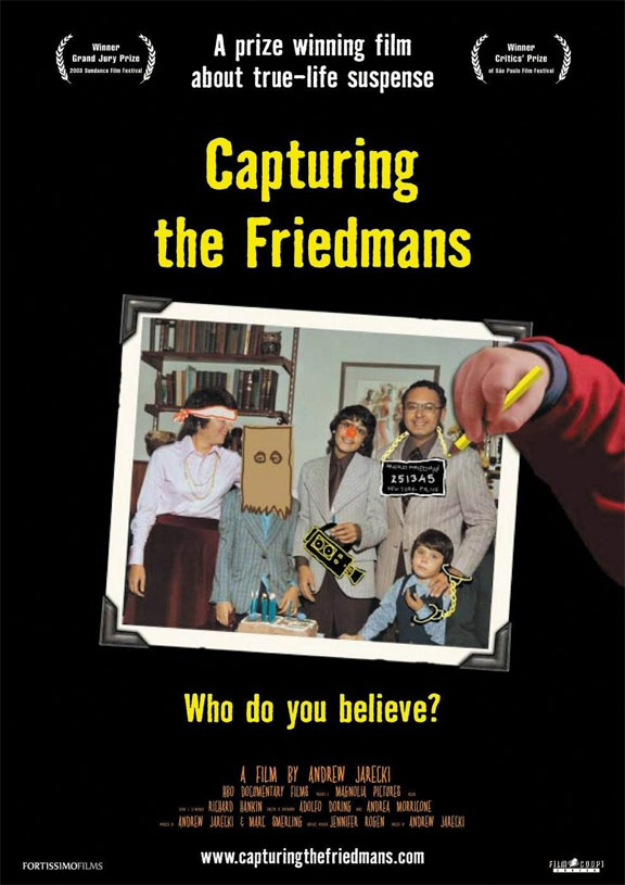 Capturing The Friedmans Poster #1
