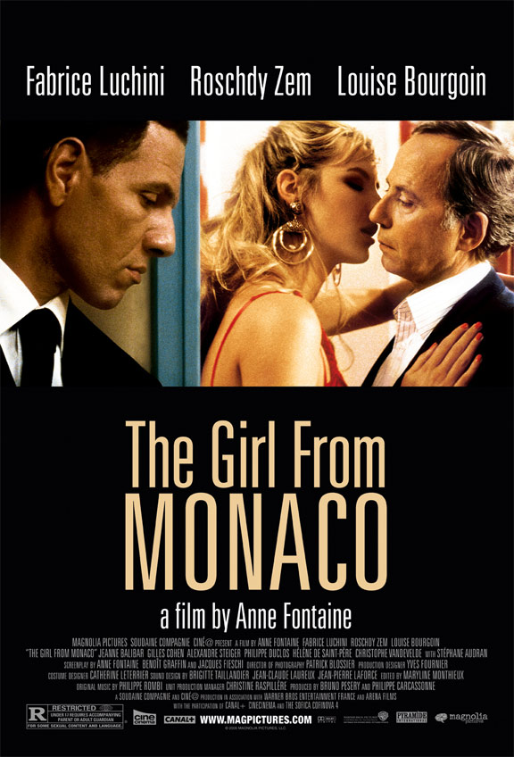 The Girl From Monaco (La fille de Monaco) Poster