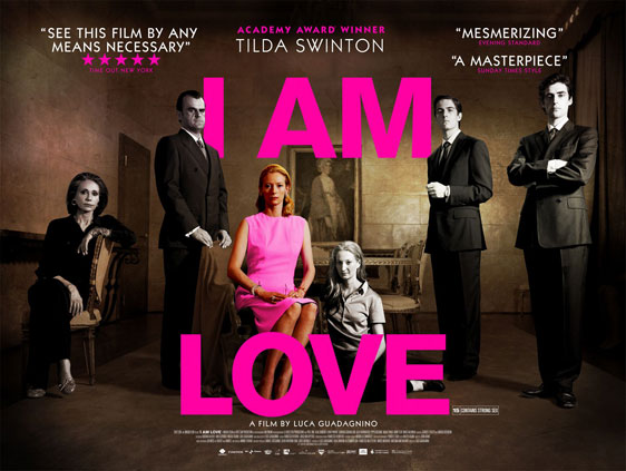 I Am Love Poster #2