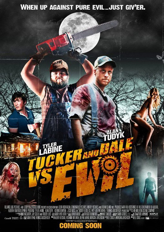 Tucker and Dale vs Evil Poster #2