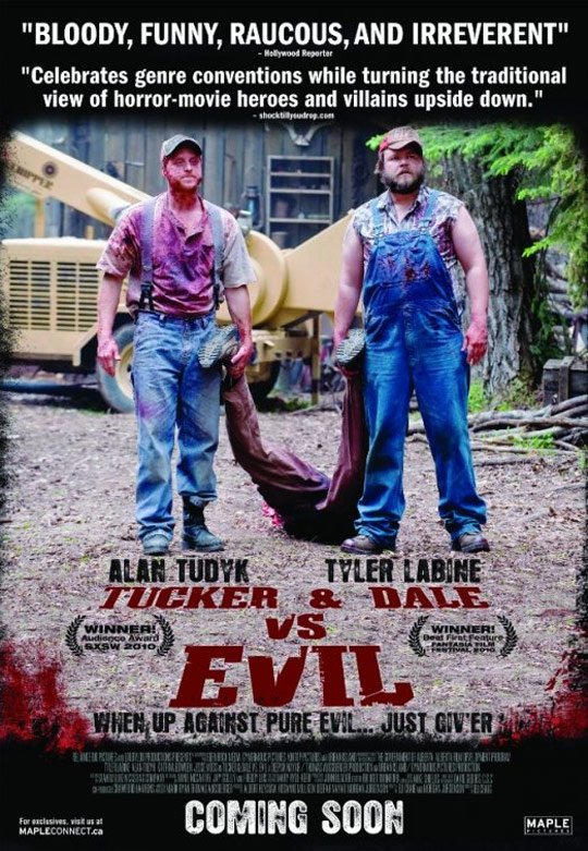 Tucker and Dale vs Evil Poster #3