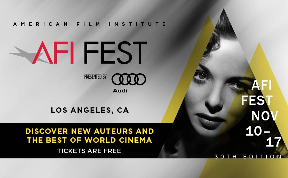 AFI Fest 2016 Main Menu
