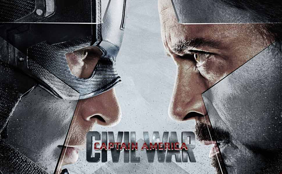 Captain America: Civil War Main Menu