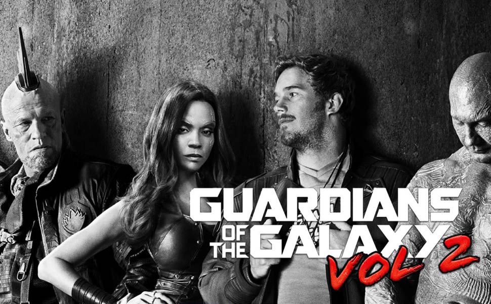 Guardians of the Galaxy Vol 2 Main Menu