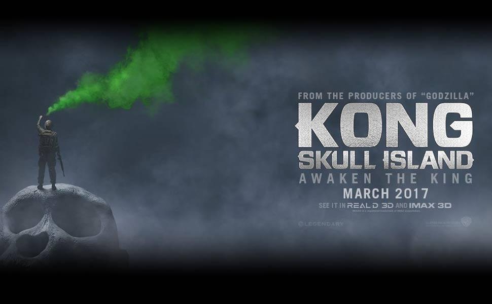 Kong Skull Island Main Menu