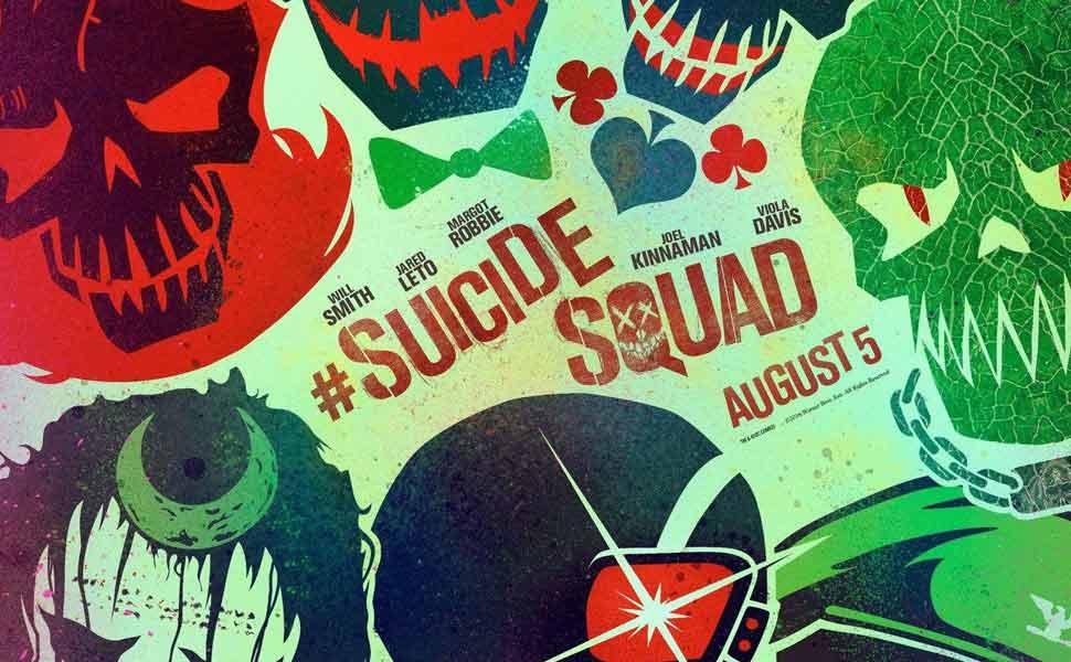 Suicide Squad Main Menu