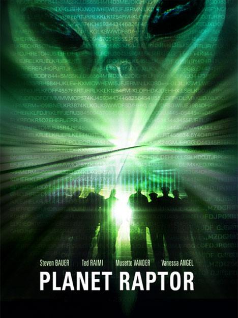 Planet Raptor Poster