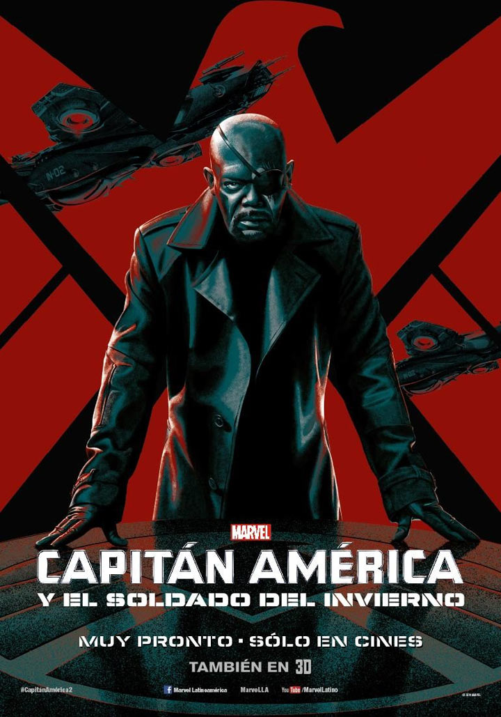 Captain America: The Winter Soldier Poster #15