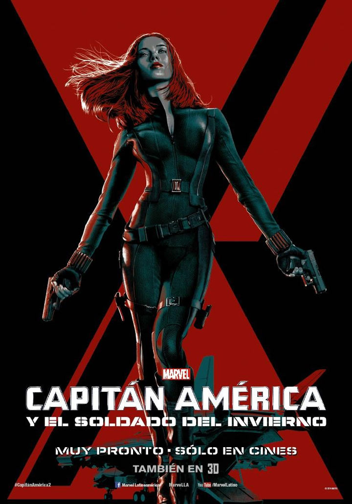 Captain America: The Winter Soldier Poster #16