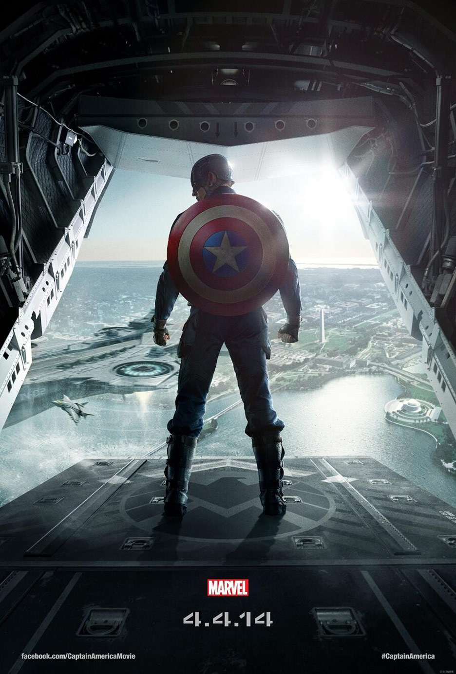 Captain America: The Winter Soldier Poster #2