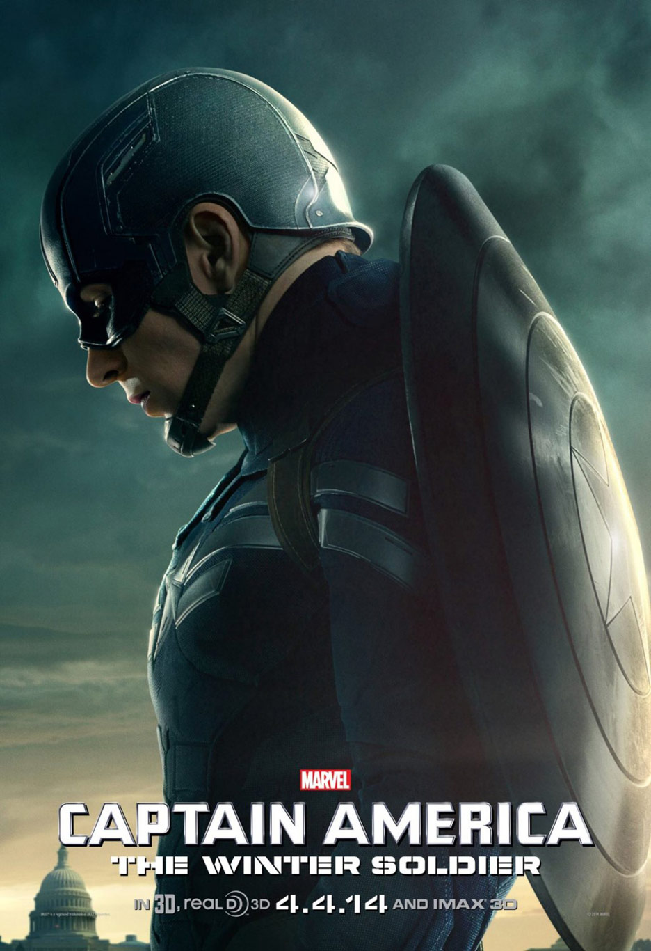 Captain America: The Winter Soldier Poster #3