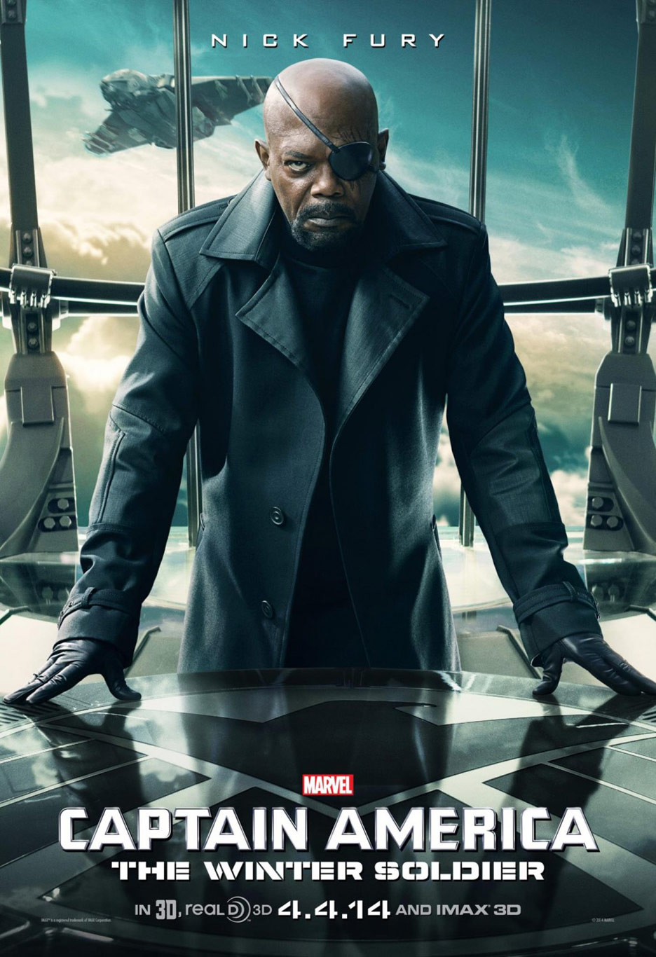 Captain America: The Winter Soldier Poster #4