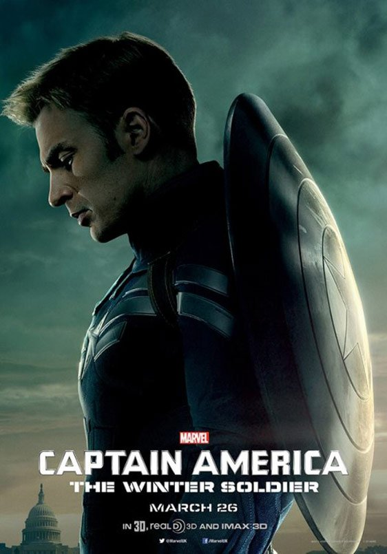 Captain America: The Winter Soldier Poster #6