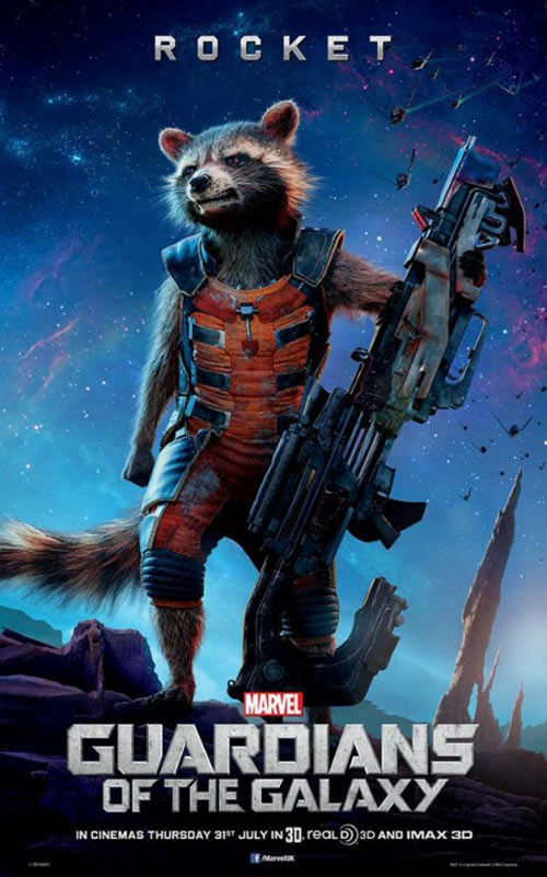 Guardians of the Galaxy Poster #10