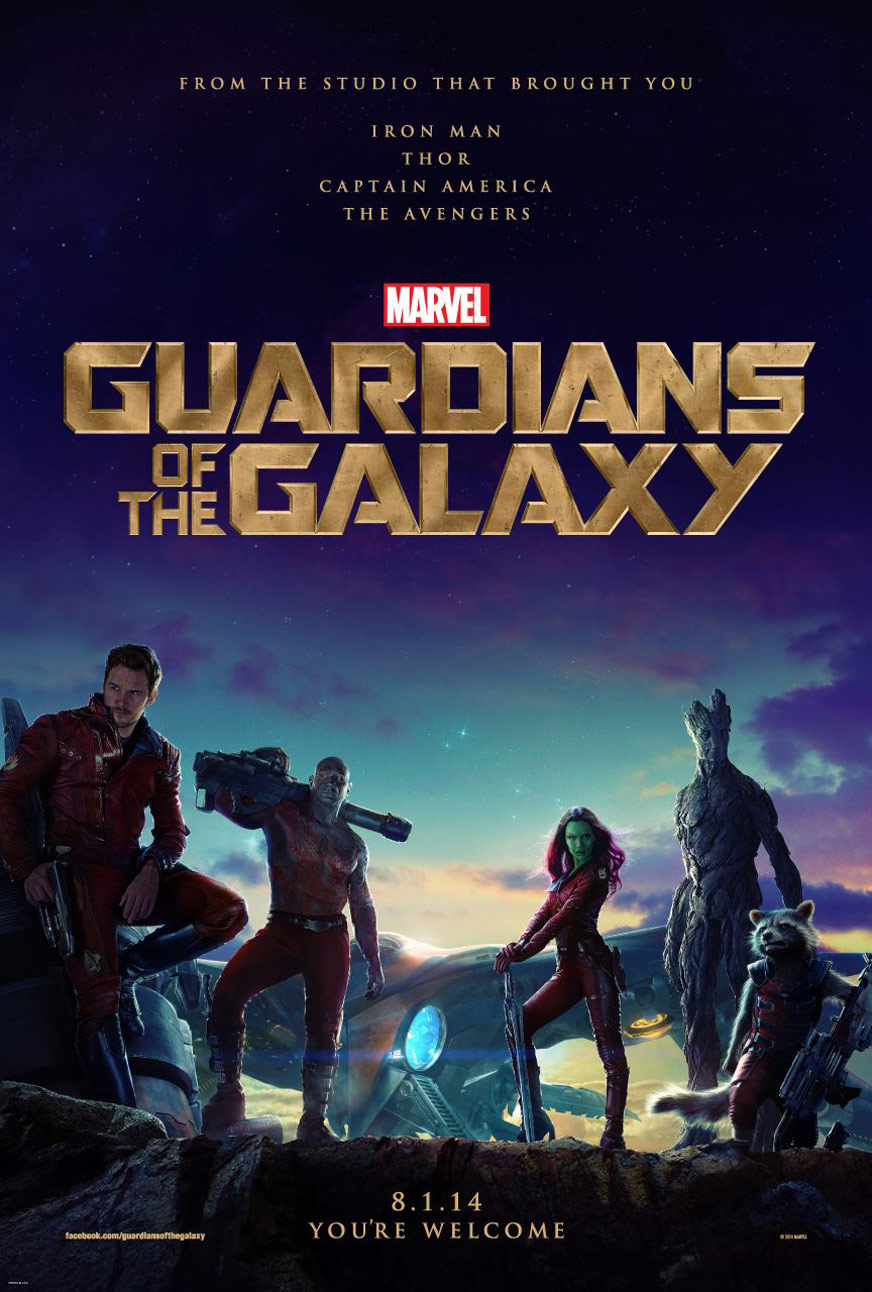 Guardians of the Galaxy Poster #2