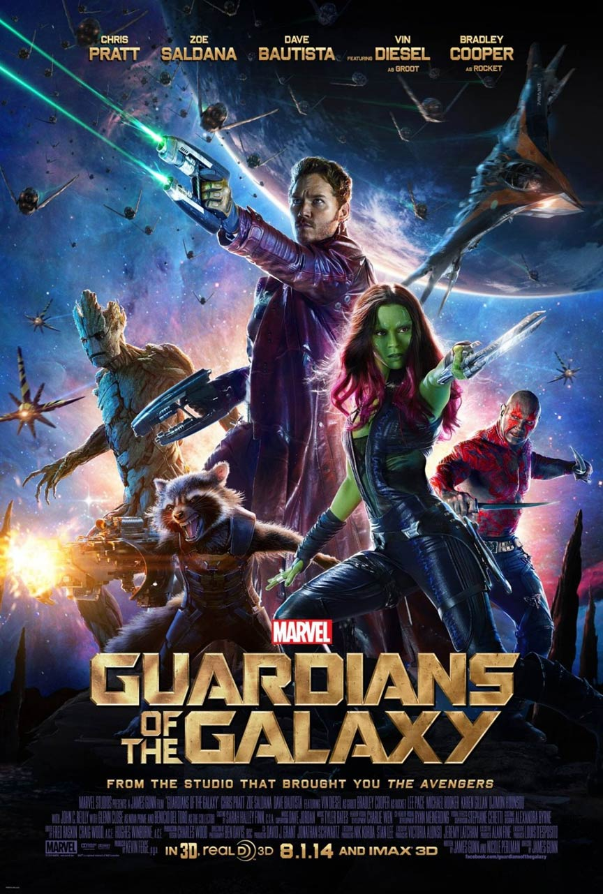 Guardians of the Galaxy Poster #3