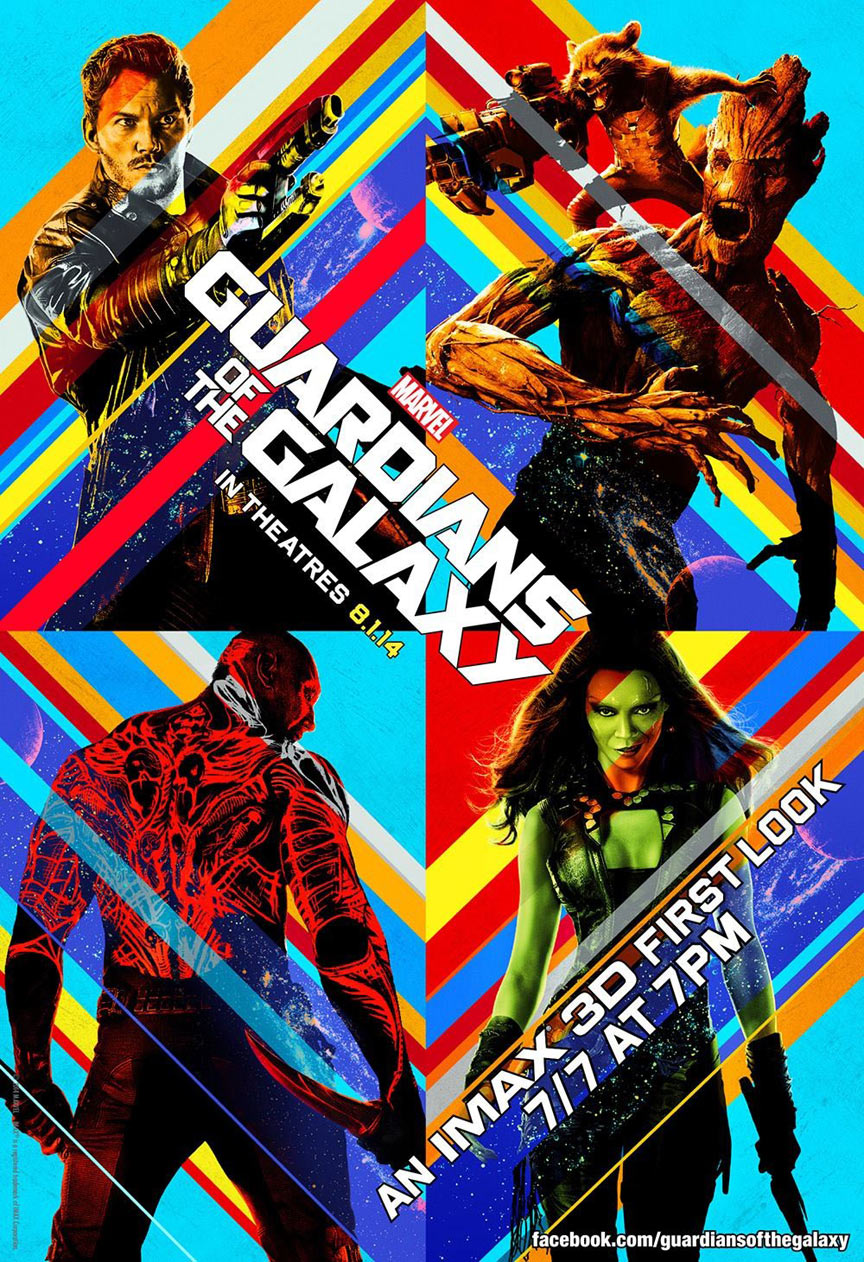 Guardians of the Galaxy Poster #9