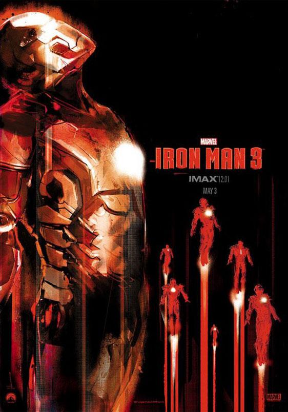 Iron Man 3 Poster #12