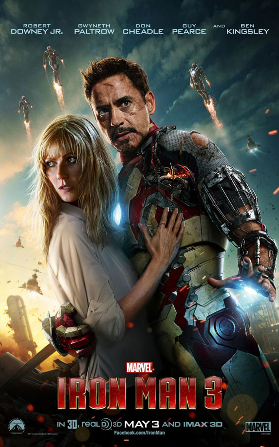 Iron Man 3 Poster #9