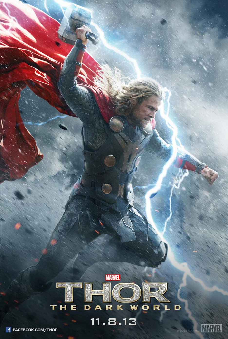 Thor: The Dark World Poster #3