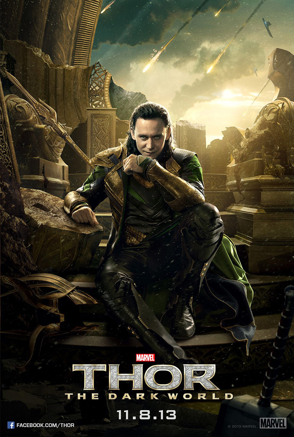 Thor: The Dark World Poster #4