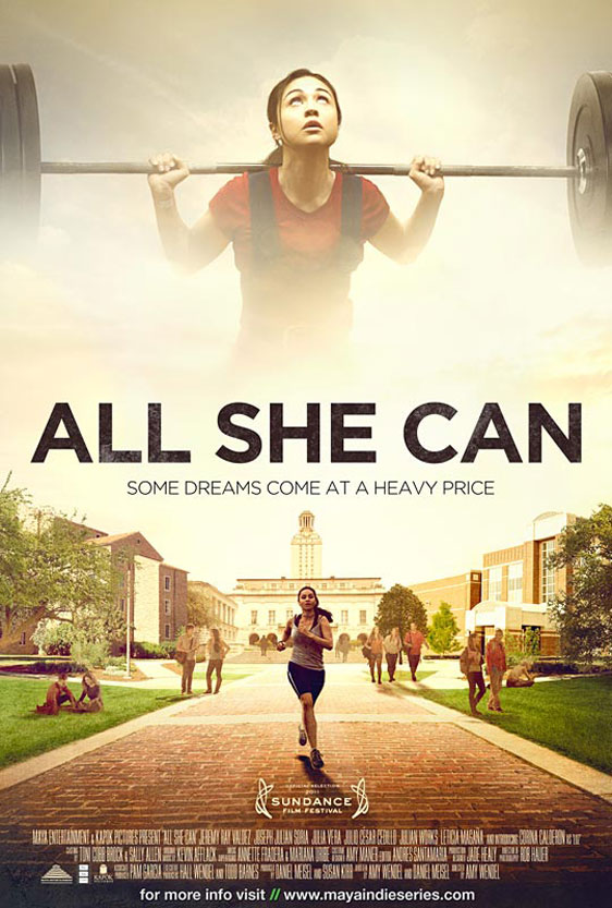 All She Can (Benavides Born) Poster #2