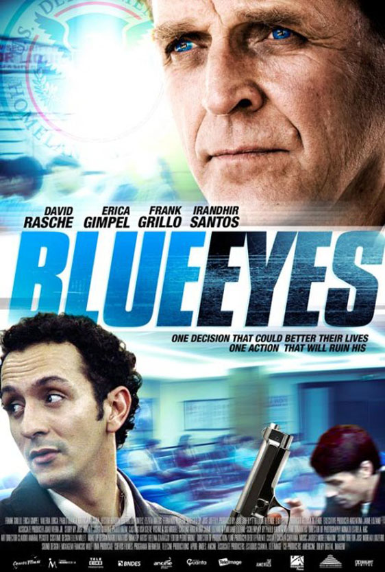 Blue Eyes (Olhos Azuis) Poster