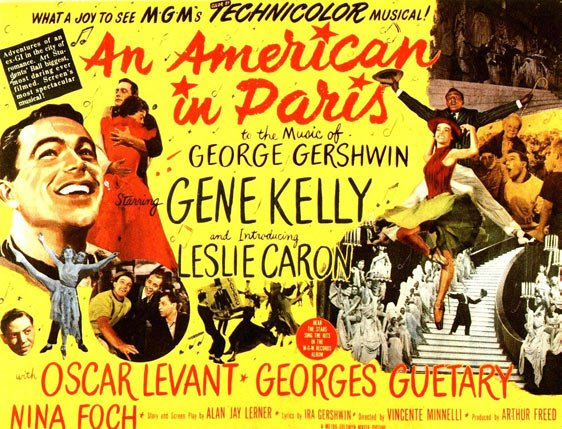 An American in Paris Poster #2